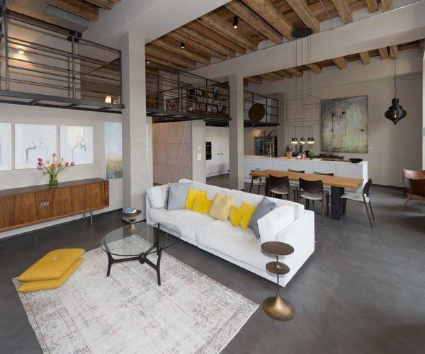 Architektur- und Immobilientfotografie: offener Wohnbereich