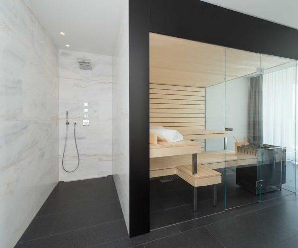 Architektur- und Immobilientfotografie Fotostudio Konstanz _ Sauna