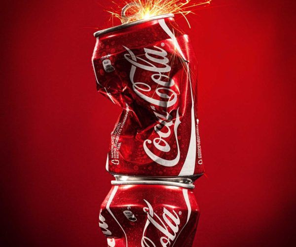 Produktfoto Packshot CocaCola