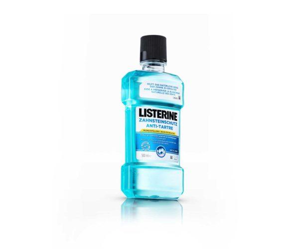 Produktfotografie: Packshot von Listerine